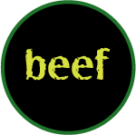 Grass Fed Beef Icon